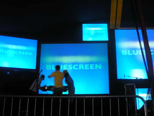Picture for event bluescreen