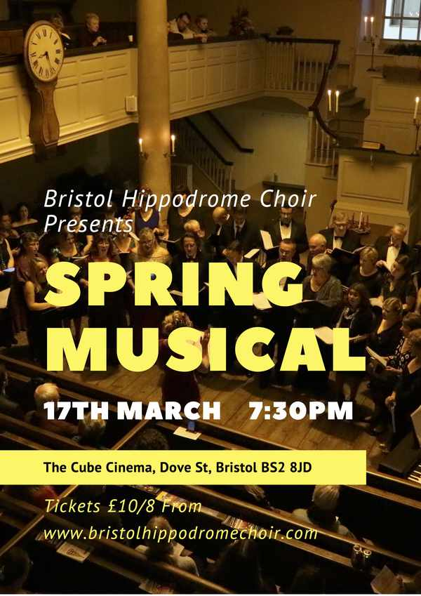 Picture for event Bristol Hippodrome Choir: Spring Musical