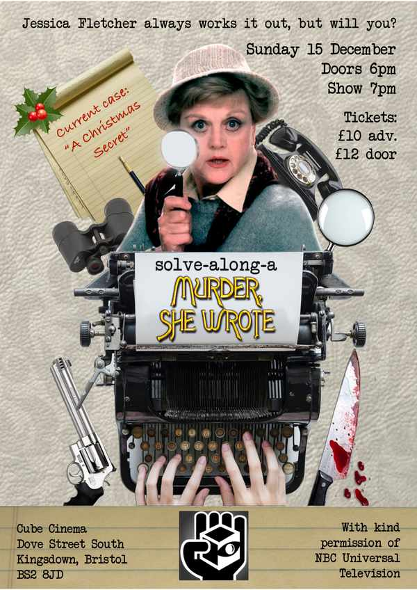 Picture for event Solve-a-long-a Murder She Wrote, Christmas Special!