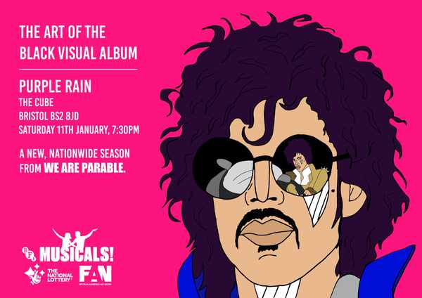"Picture for event Prince's ""Purple Rain"""