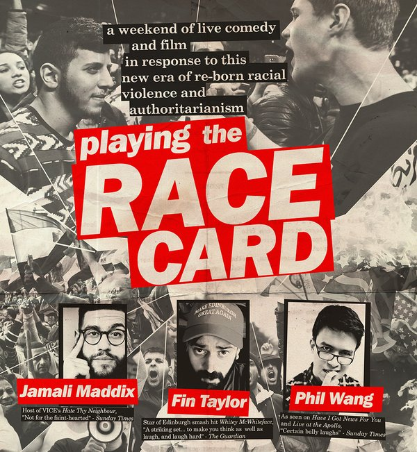Picture for event Playing the Race Card