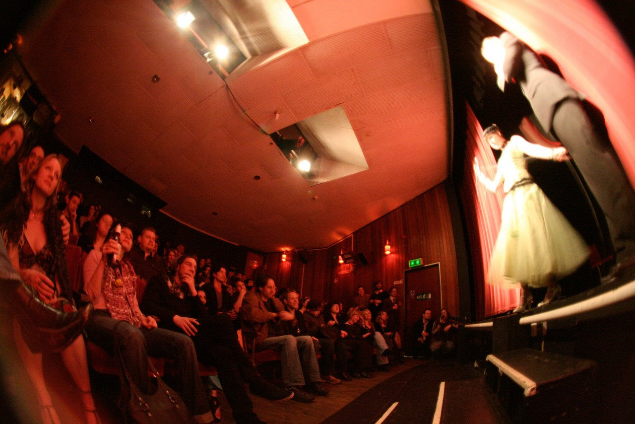 Auditorium fish eye 1